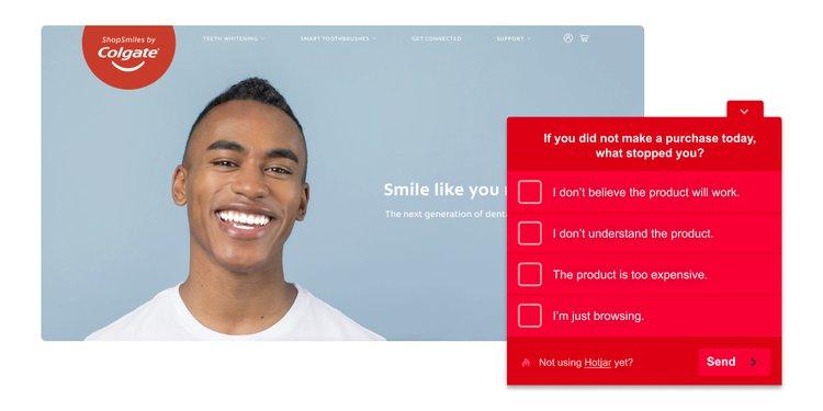 homepage-ecom-hotjar-poll-example
