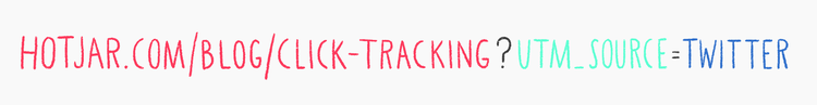 graphic of link tracking formula