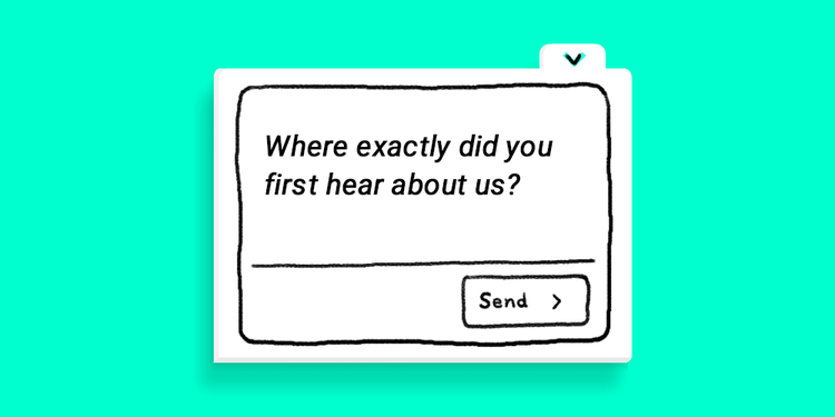 user feedback question 1