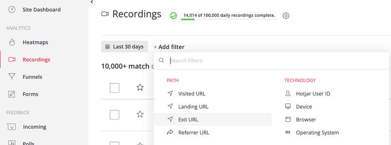 22-recordings-filter