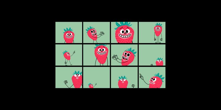 strawberry-red