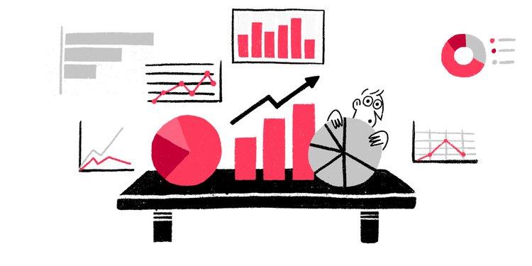 graphic depicting types of website analytics data