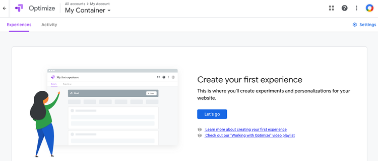 Google Optimize is a free website optimization tool