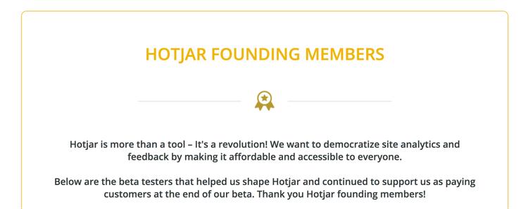 hotjar founding members