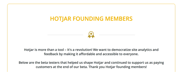 Hotjar-Founding