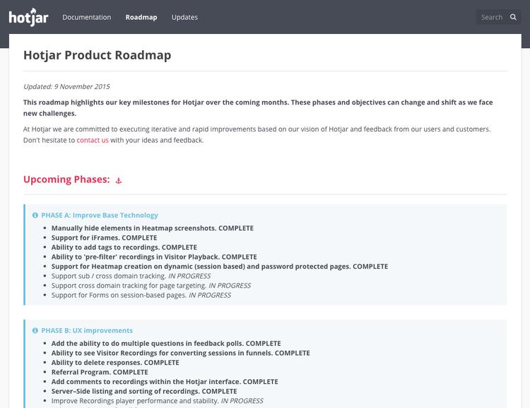 Hotjar-Product-Roadmap