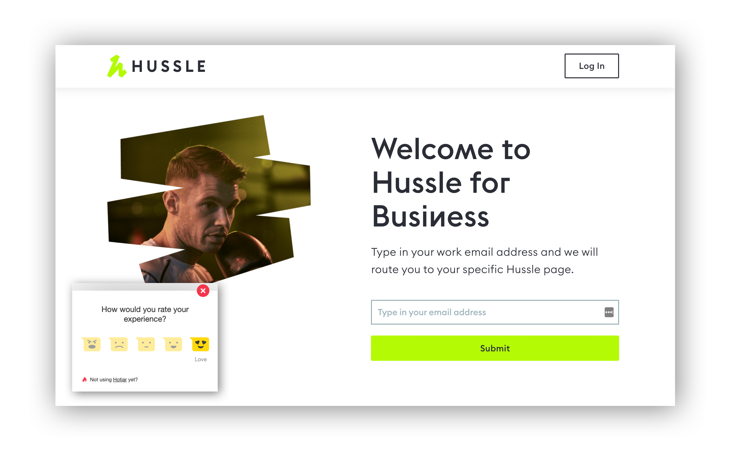 HOTJAR HELPS LUKE LEARN FROM USERS AS THEY EXPERIENCE HUSSLE'S PRODUCT