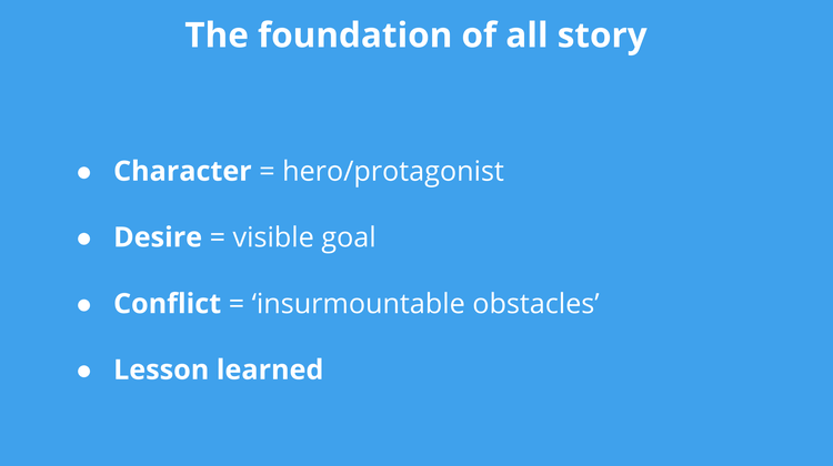 foundation of story