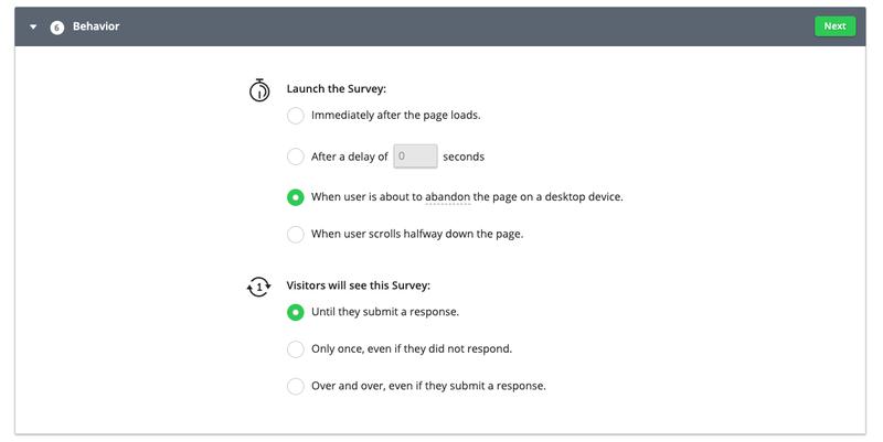 Hotjar-Survey-Behavior