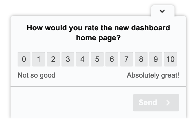 UX design survey question