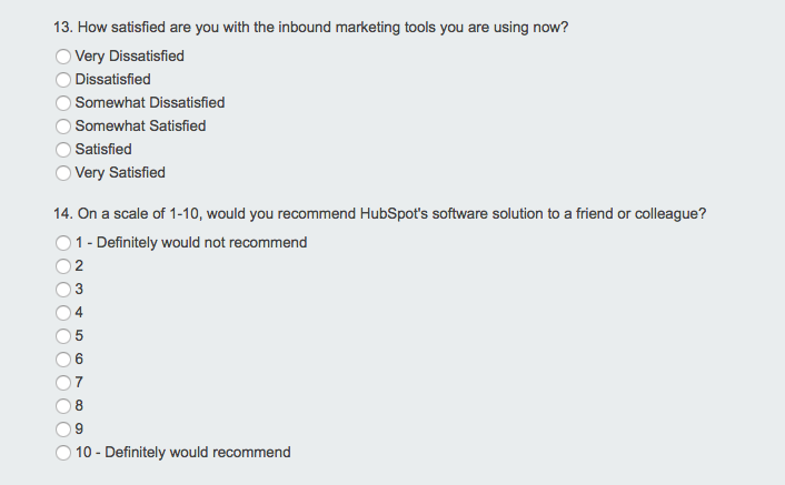 retention survey hubspot