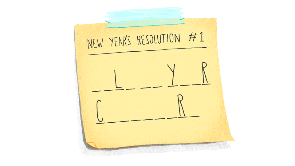 the one resolution you need In 2019