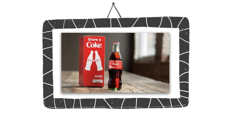 Coca Cola used massive amounts of psychographic data to develop their 'Share a Coke' campaign.