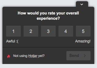 experience-survey
