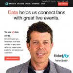 a screenshot of NewRelic's homepage