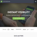 a screenshot of gechoboard's homepage