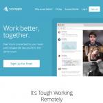 a screenshot of sqwiggle's homepage