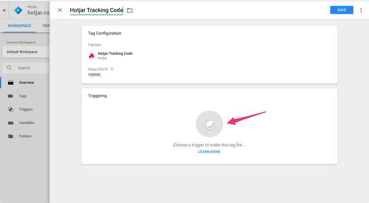 google tag manager hotjar integration