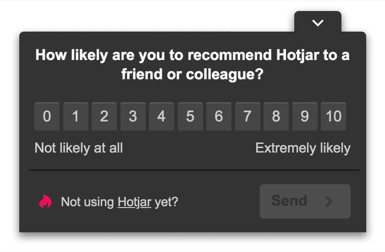 hotjar-nps-question