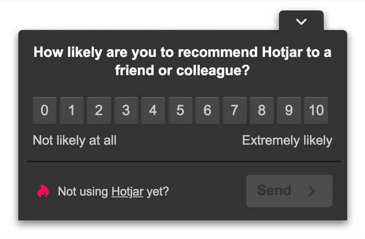 hotjar-nps-question