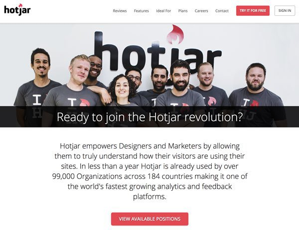 hotjar team
