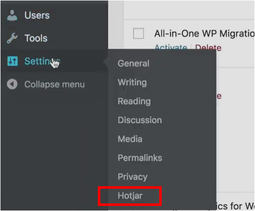 install-hotjar-wordpress-add-settings