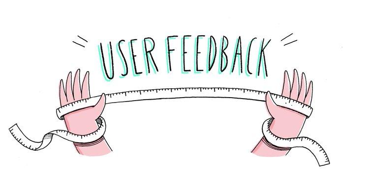 graphic representing measuring user feedback