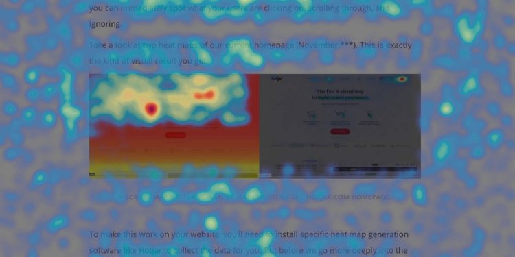 an example of a move heat map