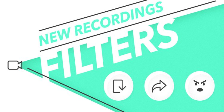 new-recordings-filters