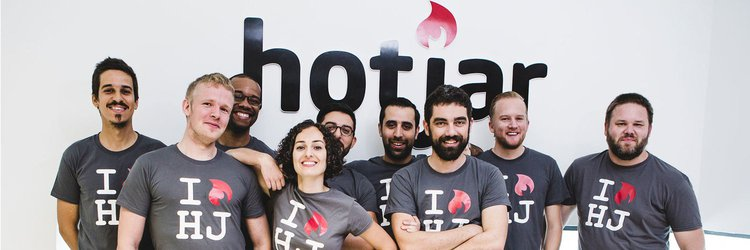 Hotjar engineering team members
