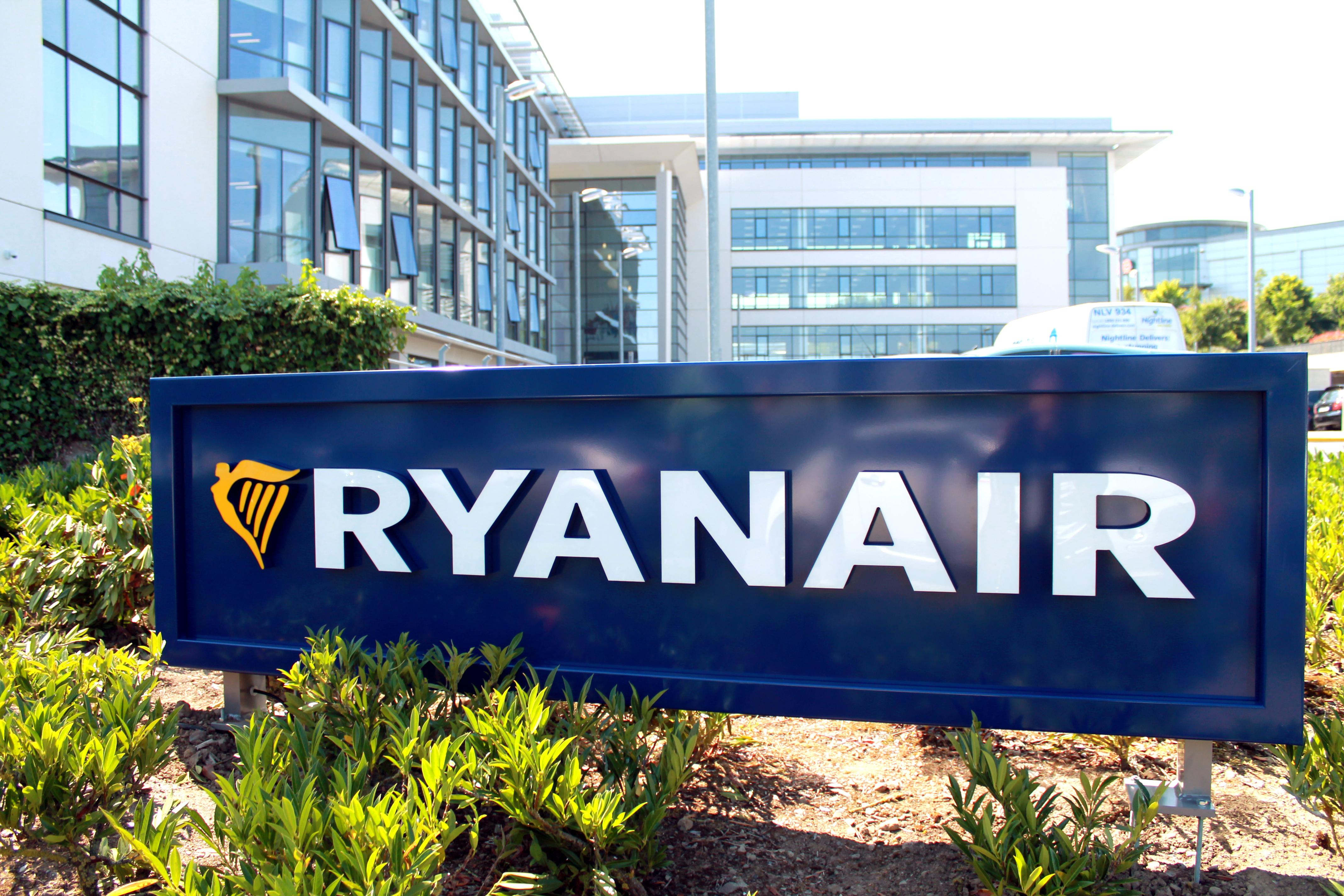 Ryanair Dublin HQ Sign